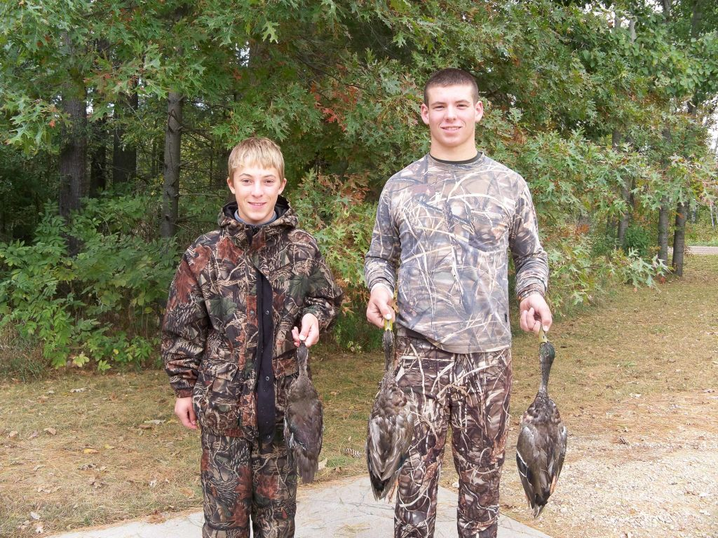 2012 duck opener with Andrew