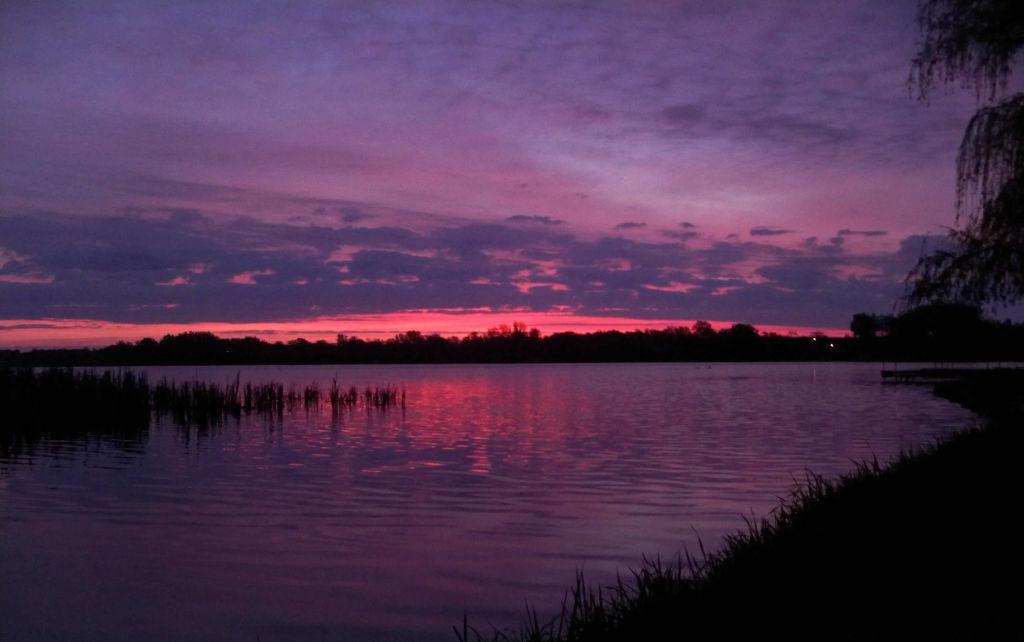 sunrise on the bass lake 3
