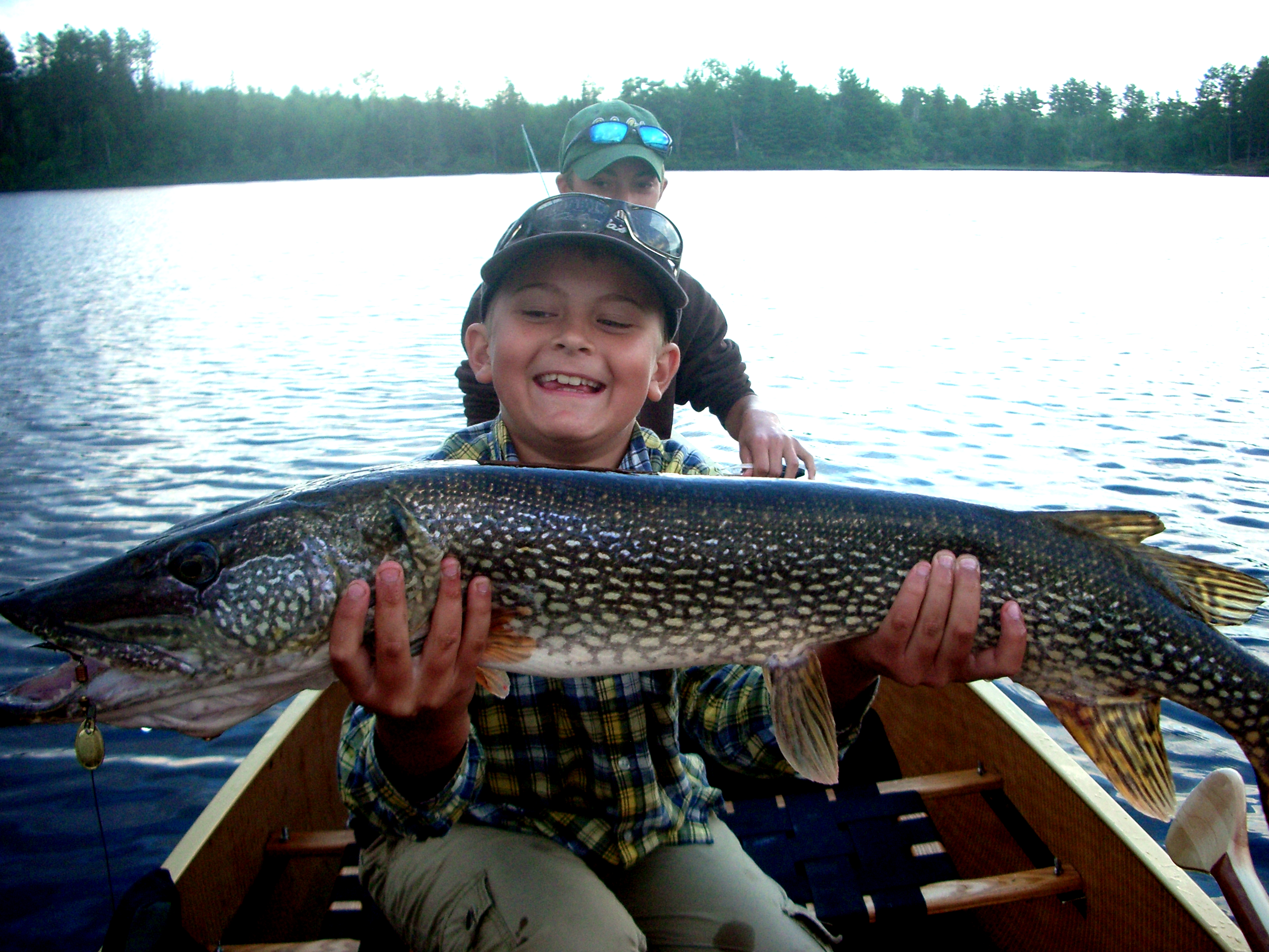Noah's monster Boundary Waters pike