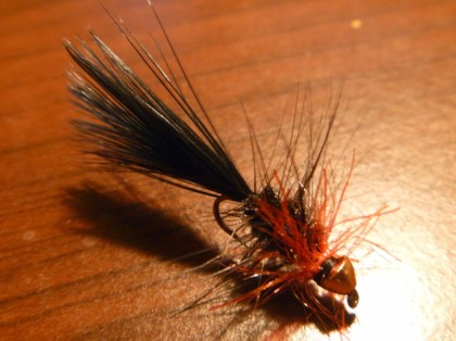 Red Storm - fly and pic by Spirit Streams Fly Fishing