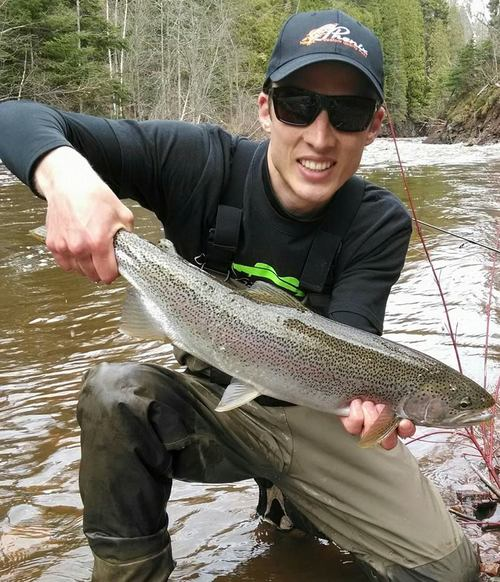 Rob with a nice North Shore chromer