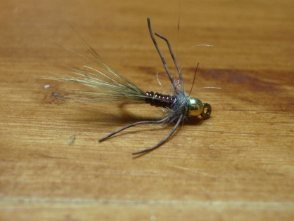 A Slab Spike is a perfect example of a nymph pattern.